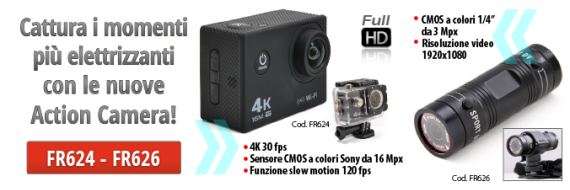 NUOVE ACTION CAMERA