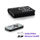 Mini DVR 2 canali A/V su SD Card