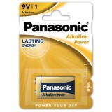 Batteria Alcalina Panasonic Power 9 V