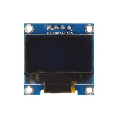 "Display OLED I2C 0,96""- VCC/GND/SCL/SDA"