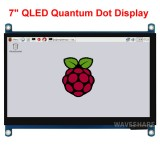 "Display QLED Touch Screen 7"" - 1024x600 pixel"
