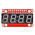 Display 4 DIGIT con interfaccia TTL, SPI e I2C
