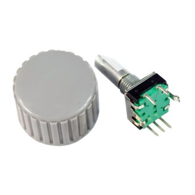 Encoder rotativo 12 mm con manopola
