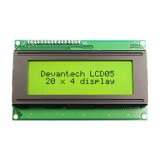 Display seriale/I2C verde 20X4 retroilluminato