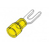 CONNETTORE A FORCELLA GIALLO 5,3 mm