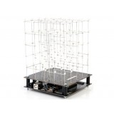 Cubo LED bianchi 5x5x5 - in kit da saldare