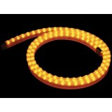 STRIP A LED IN GEL DI SILICONE GIALLO - 1 M