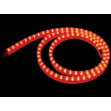 STRIP A LED IN GEL DI SILICONE ROSSO - 1 M
