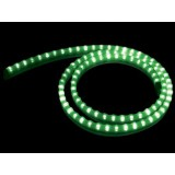 STRIP A LED IN GEL DI SILICONE VERDE - 1 M