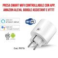 Presa smart  Wi-Fi - Amazon Alexa e Google Assistant