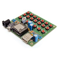 Demoboard per riproduttore audio MP3 DFR0299 - in kit