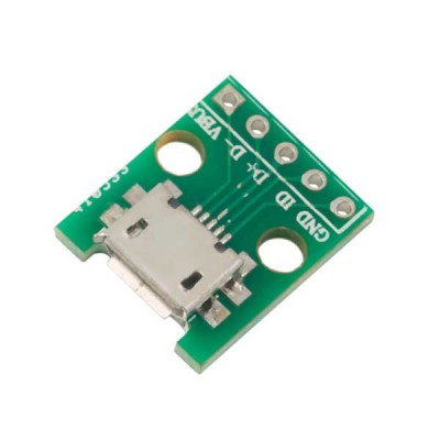 Breakout Board con connettore micro USB