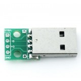Breakout Board con connettore USB maschio