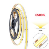 Strip flessibile COB 2520 led bianchi 24V - 6500K - 5 metri