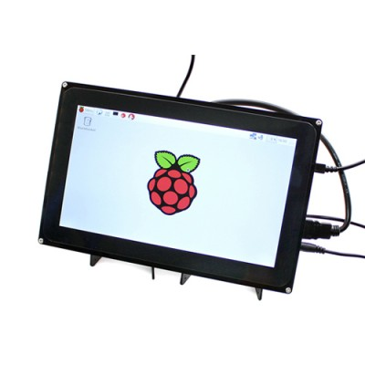 "Display Touch Screen 10"" 1024x600px - HDMI con Case"