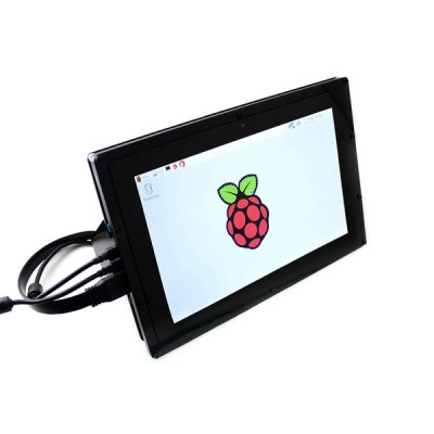 "Display Touch Screen 10""  1280x800px - HDMI con Case"