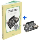 Libro &quot;FISHBOOK&quot; + board <span class='evidenzia'>FISHINO</span> Uno