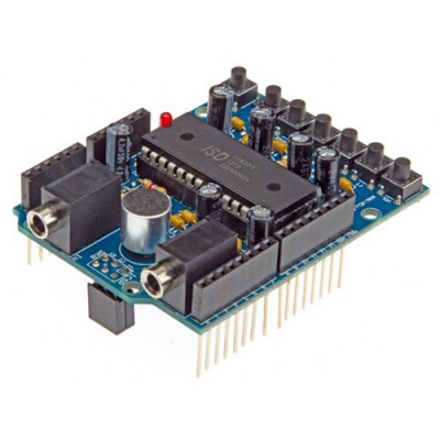 Audio shield per Arduino - montato