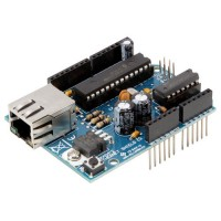 Ethernet shield per Arduino - montata