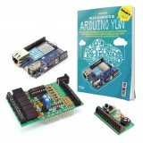 Kit Arduino Yún + libro YUNBOOK1 + Board IN/OUT
