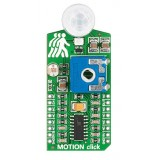 MOTION click - board con sensore di movimento